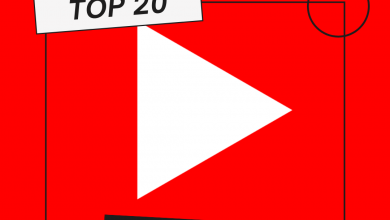 Top 20 Music Videos (YouTube)