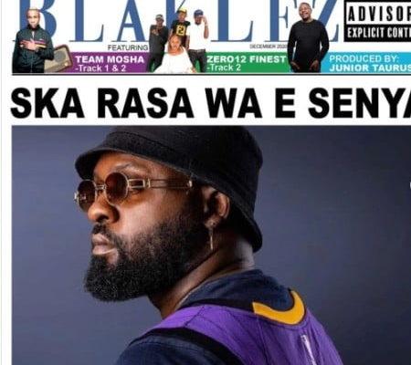 "Blaklez drops new joint ""Ha Se Pitori"" featuring Zero12Finest, Junior Taurus & Team Mosha"