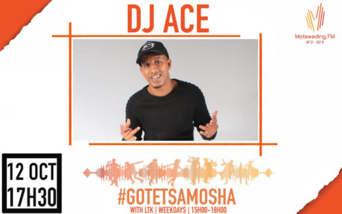 """DJ Ace releases """"Motsweding FM (Afro House Mix)"""""""