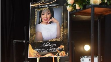 Photos and Video From Mshoza's Memorial Service