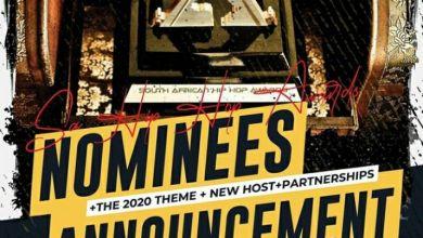 SA Hip Hop Awards 2020 Nomination To Be Unveiled Tomorrow Friday 12th