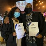 Stogie T And Wife Graduate Bible School
