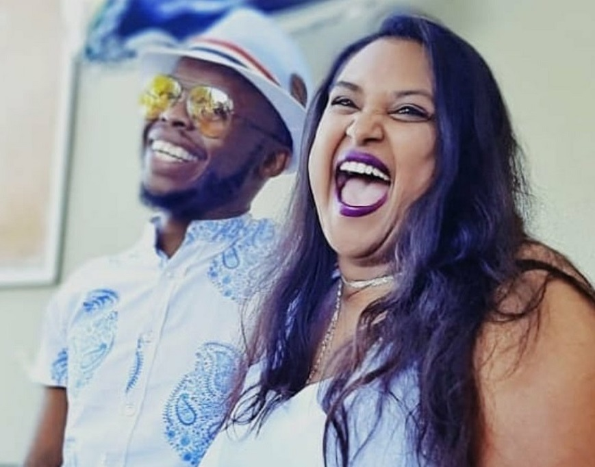 Towdee Mac Delights Mzansi With Picture Of His Interracial Family