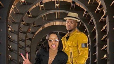 Murdah Bongz Gifts DJ Zinhle A New Potrait