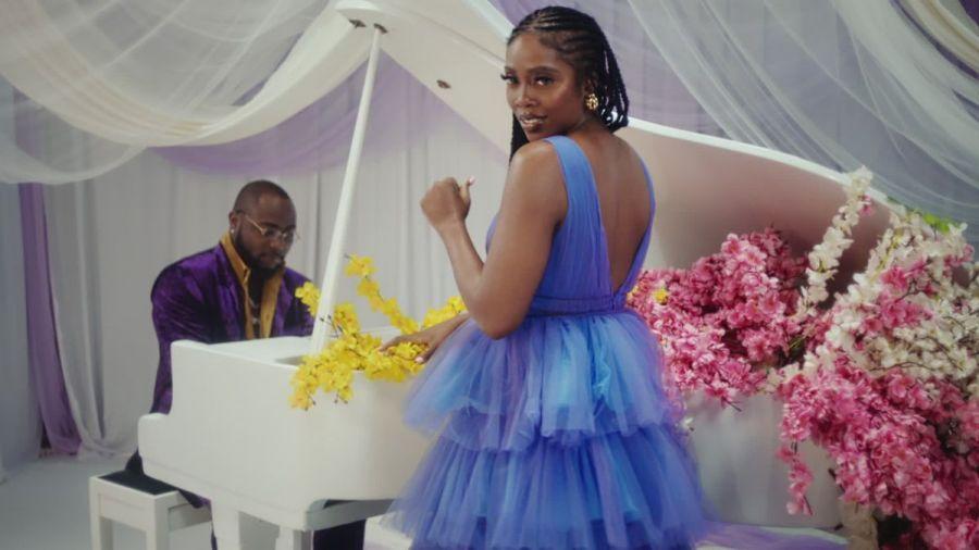 "Tiwa Savage & Davido Unite On ""Park Well"" Music Video"