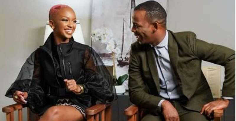 Couple Zakes & Nandi Madida Talk Growing Up & More In Sit-Down With Unathi