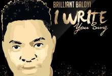 Brilliant Baloyi - I Write You Sing (Live)