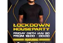 """Watch China Charmeleon """"Lockdown House Party"""" Mix Live Session On Channel O"""