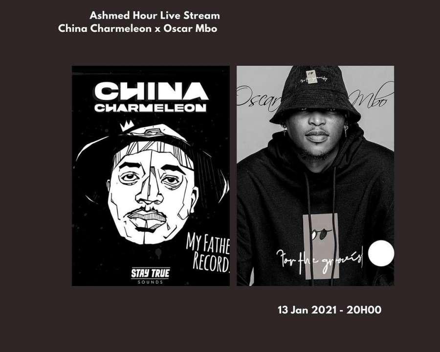 China Charmeleon x Oscar Mbo – Ashmed Hour Live Stream