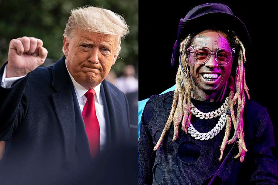 Donald Trump Pardons Rappers, Lil Wayne and Kodak Black on Final Office Day