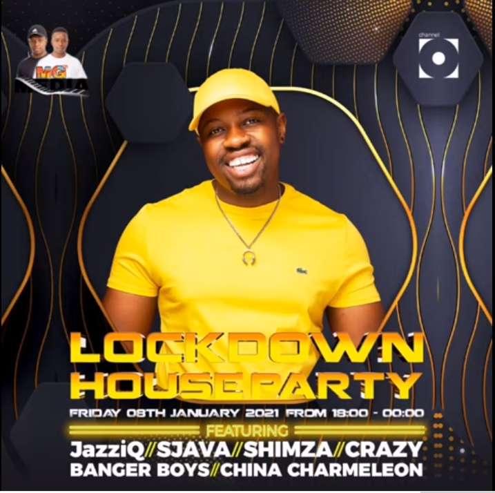 Mr JazziQ – Lockdown House Party Mix (08 January 2021)