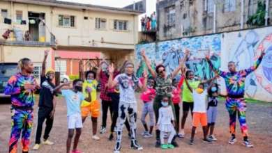 Popular Dance Group, Ghetto Kids Meet 'Jerusalema' Star Master Kg In Uganda