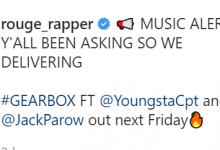"""Rouge Announces Second 2021 Release, """"Gearbox"""" Ft. Youngsta CPT, Jay & JackParow"""