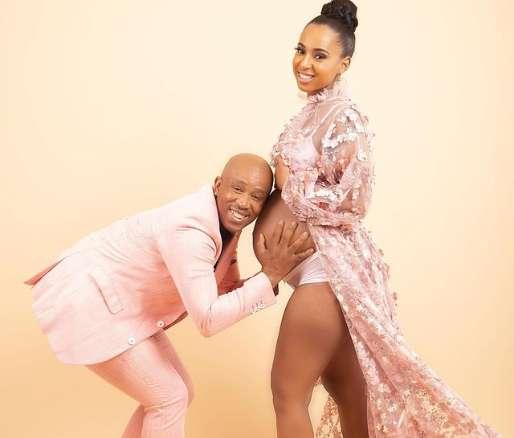 Theo Kgosinkwe Of Mafikizolo & Wife Welcome Baby Girl