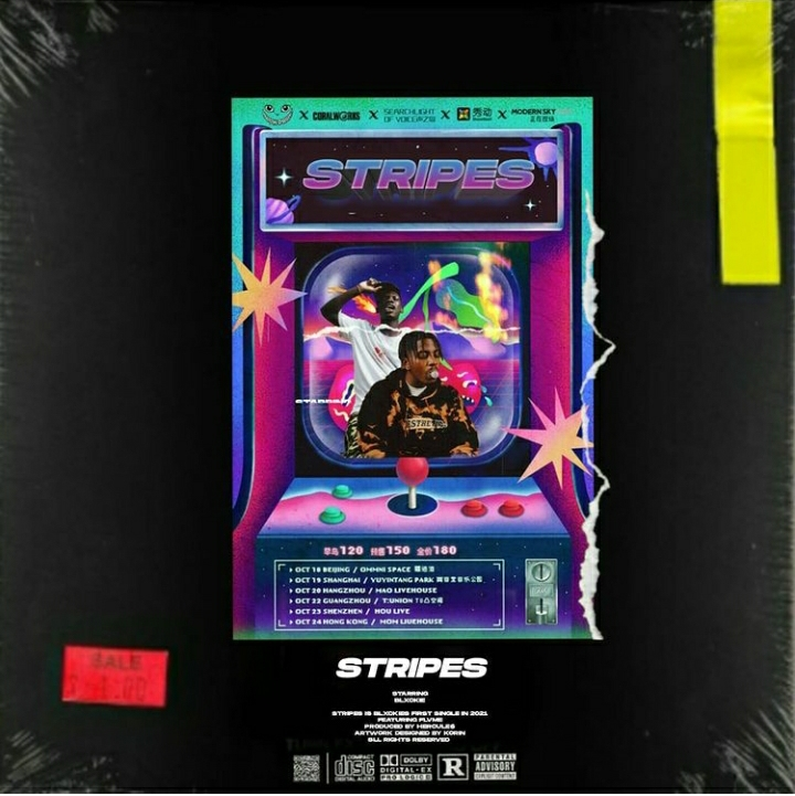 Blxckie x Flvme Collab 'Stripes' Drops Friday