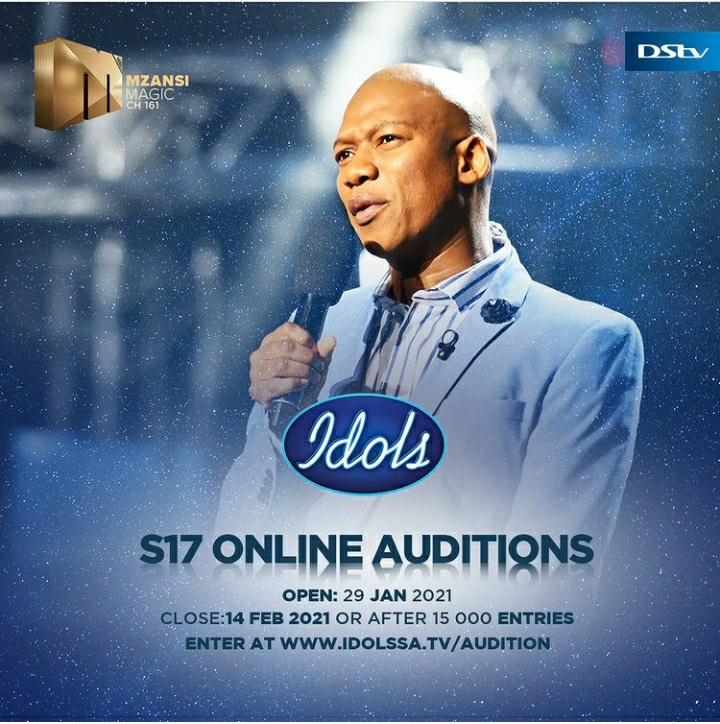 Idols SA Season 17 Online Auditions Now Open, Here Is How To Enter