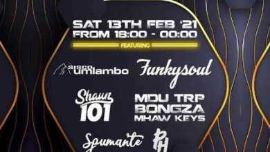 Lockdown House Party Lineup: Sisco Umlambo, FunkySoul, Shawn 101, MDU TRP, Bongza, Mhaw Keys, Spumante & PH