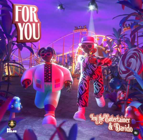 """Teni Announces First Davido Collaboration Titled """"FOR YOU"""""""