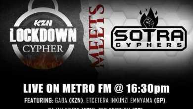 Zakwe & Speeka's KZN Lockdown Cypher Vs Sotra Cyphers To Air on  Metro FM