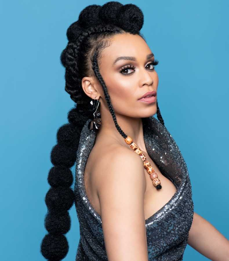 Pearl Thusi Biography: Age, Net Worth, Kids, Boyfriend, Parents, Baby Daddy, Hair Products, Education & Contact Details