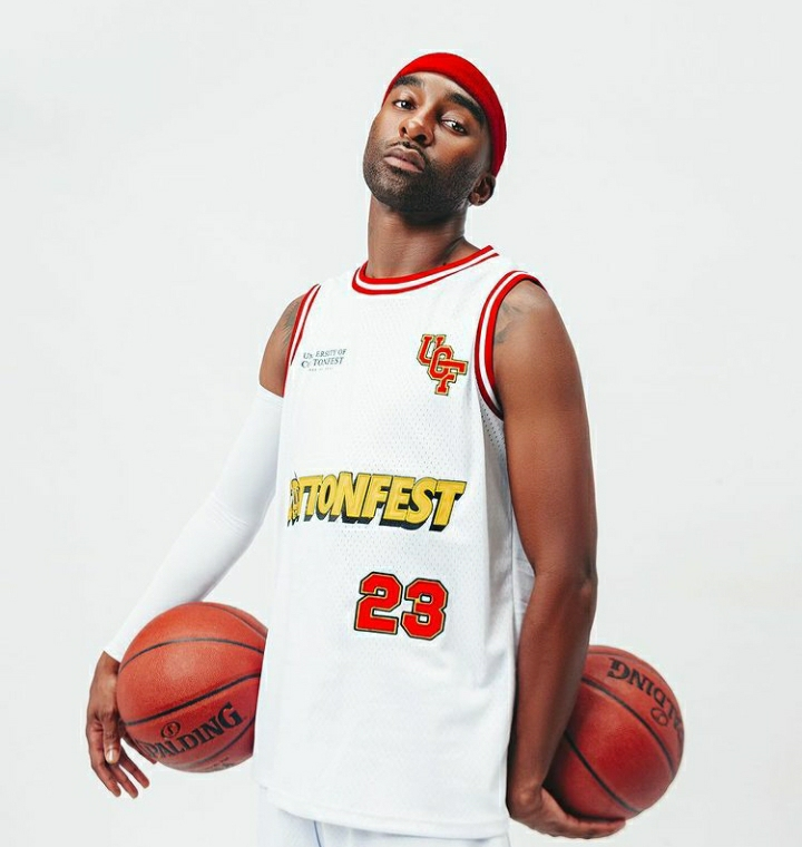 Riky Rick launches new Cotton Fest basketball-inspired merch