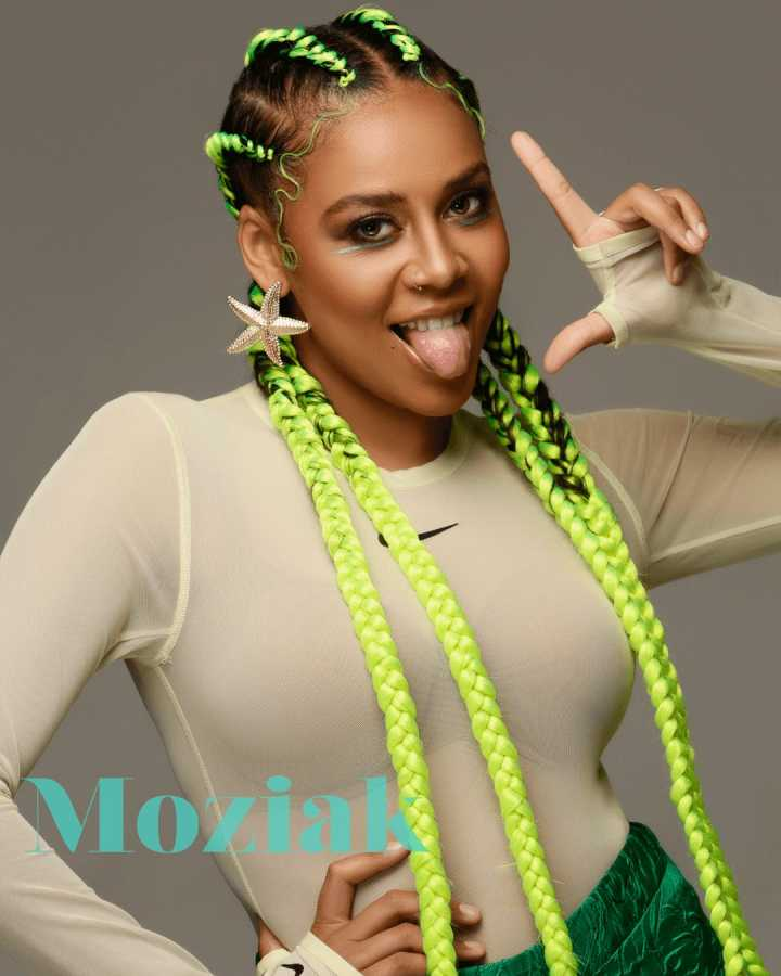 Sho Madjozi Covers Moziak Africa Magazine Front Page For International Women's Day