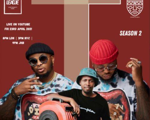 Major League & Kwiish SA – Amapiano Live Balcony Mix