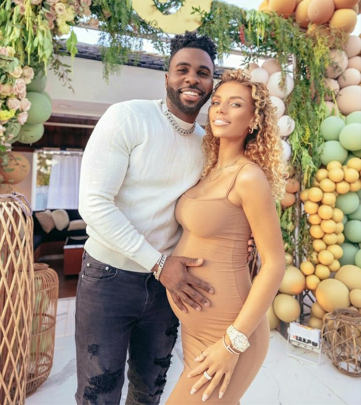Jason Derulo And Girlfriend Jena Frumes Welcome 1st Child Together