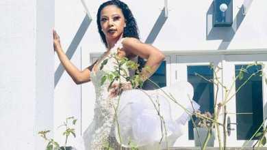 Kelly Khumalo Celebrates Winning A SAFTA