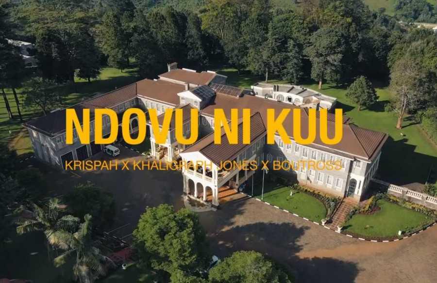 Krispah – Ndovu Ni Kuu ft. Khaligraph Jones & Boutross