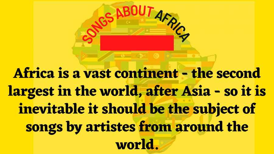 10 Songs That Tell Stories About Africa