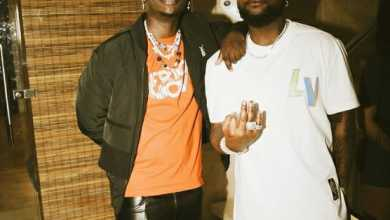 Blxckie Links Up With Davido