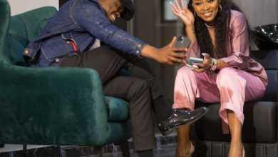 DJ Zinhle Celebrates Boyfriend Murdah Bongz At 34th