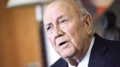 FW de Klerk Biography: Age, Foundation, Net Worth, House, Wife, Health, Education & Contact Details