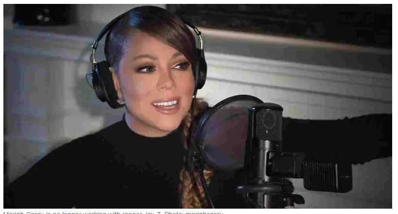 """Mariah Carey On """"Explosive"""" Meeting With Jay Z"""