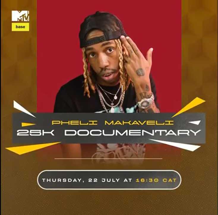 """25k's New """"Pheli Makaveli"""" Documentary To Premier MTVBase"""