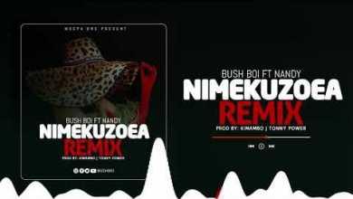 Bush Boi – Nimekuzoea Remix Ft. Nandy