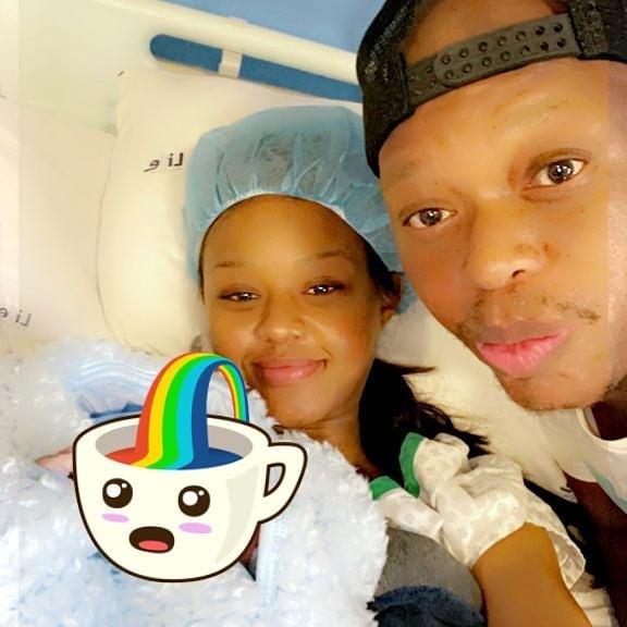 Mampintsha & Babes Wodumo Teases Son Sponge Wodumo's First Song
