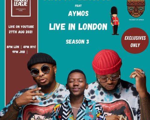 Major League & Aymos – Amapiano Live Balcony Mix B2B (S3EP7)