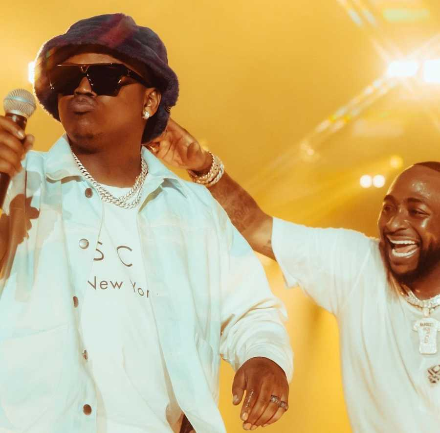 Focalistic & Davido Wow Fans At The Yam Carnival In London