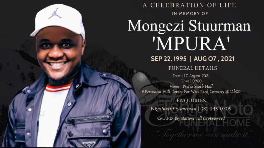 Watch The Final Funeral Service Of Mongezi 'Mpura' Stuurman