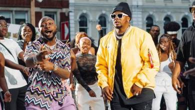 Pictures: Major League DJz Shoots Upcoming Music Video With Davido And Focalistic