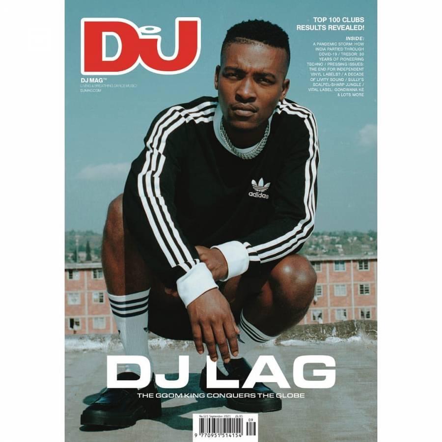DJ LAG Covers DJ Mag September Issue