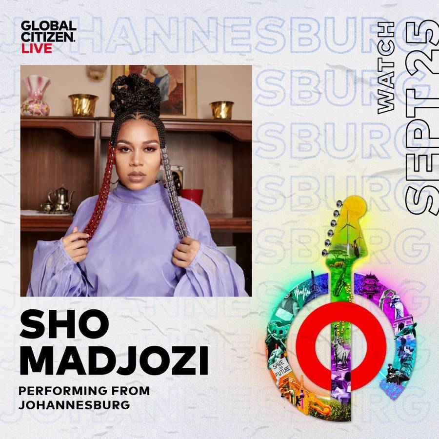 Sho Madjozi To Perform At Global Citizen 2021 Virtual Concert Alongside Doja Cat, Billie Eilish, & others