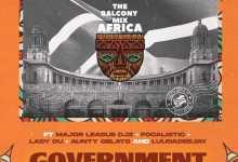 Balcony Mix Africa - Government Ft. Focalistic, Lady Du, LuuDadeejay & Aunty Gelato