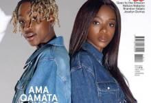 Uncle Vinny and Ama Qamata Glitter On GQ Magazine Cover