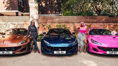 Femi Otedola Splurges R10.5 Million on Three Ferraris For Daughters Temi, Cuppy & Tolani