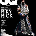 Ricky Rick Covers October Issue Of GQ Magazine South Africa